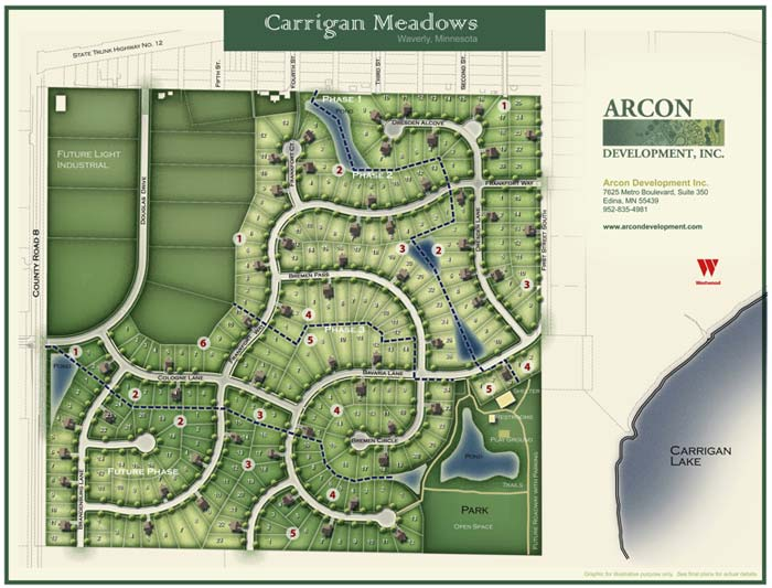 Overall Site Plan Carrigan Meadows 3rd