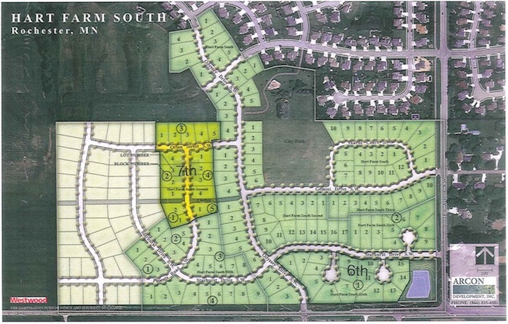 Overall Site Plan Hart Farm South Seventh