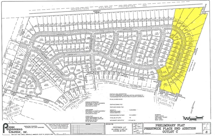 Overall Site Plan Prestwick Place 13th