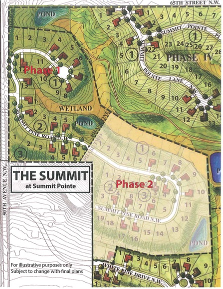 Overall Site Plan Summit Pointe Sixth