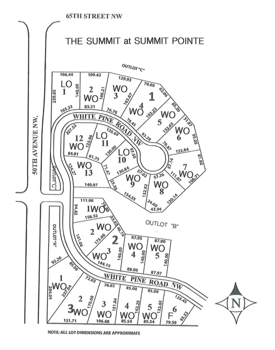 Summit Pointe Fifth Site Plan